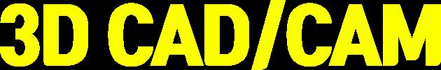 3D CAD/CAM